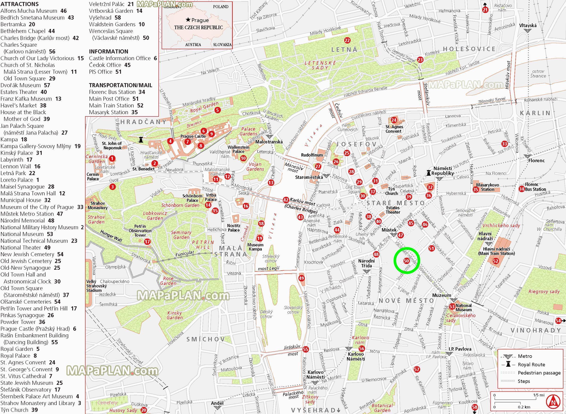 wenceslas square prague map Wenceslas Square Map Wenceslas Square Prague Map Bohemia Czechia wenceslas square prague map
