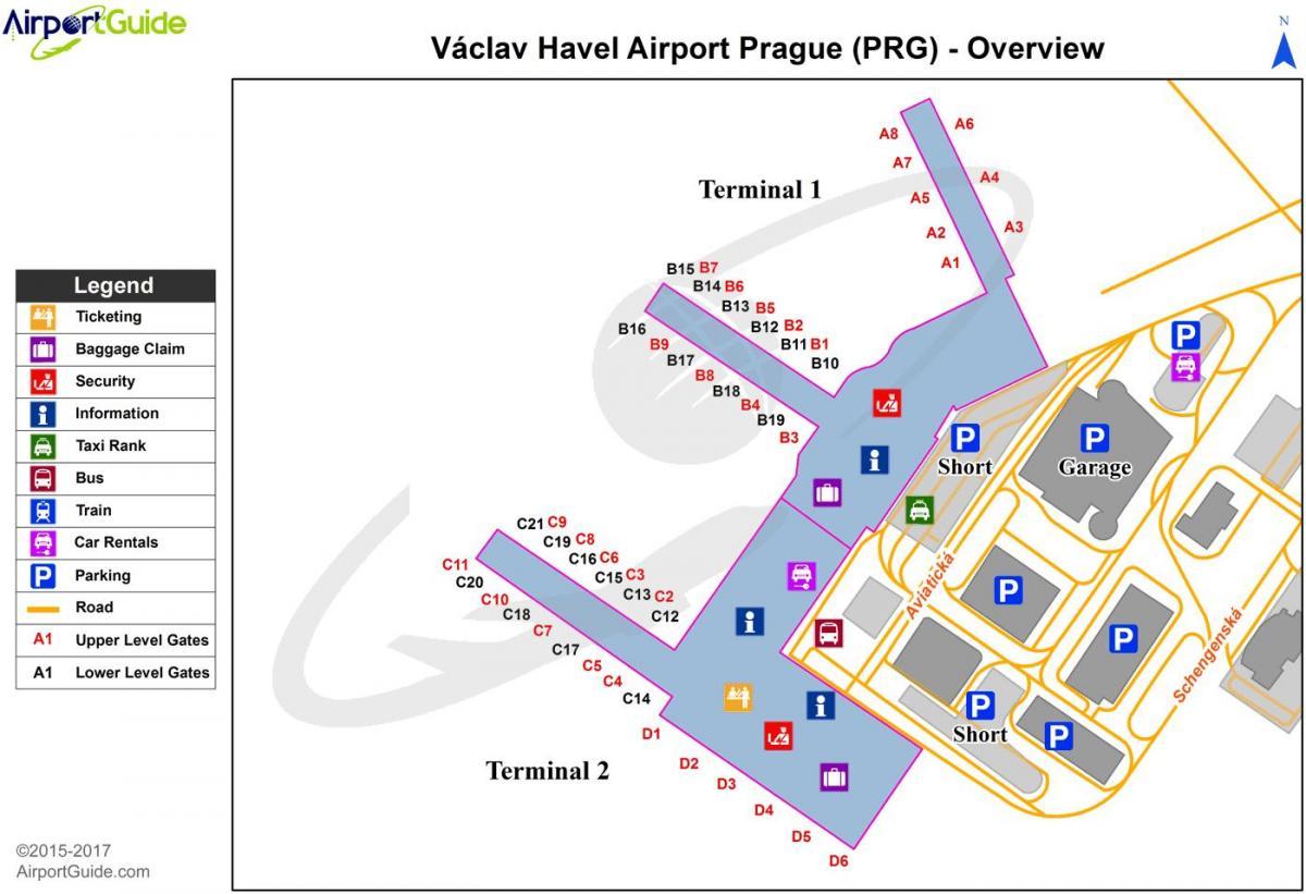 Airport In Prague Vaclav Havel Or Praha Ruzyne